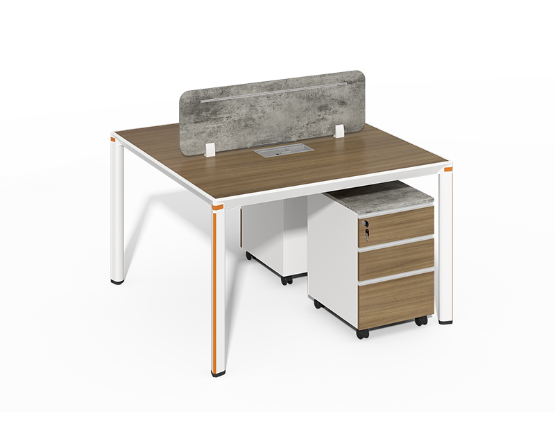 Direct Factory Price Excellent 2 person office workstation desk without pedestal LQCE-07