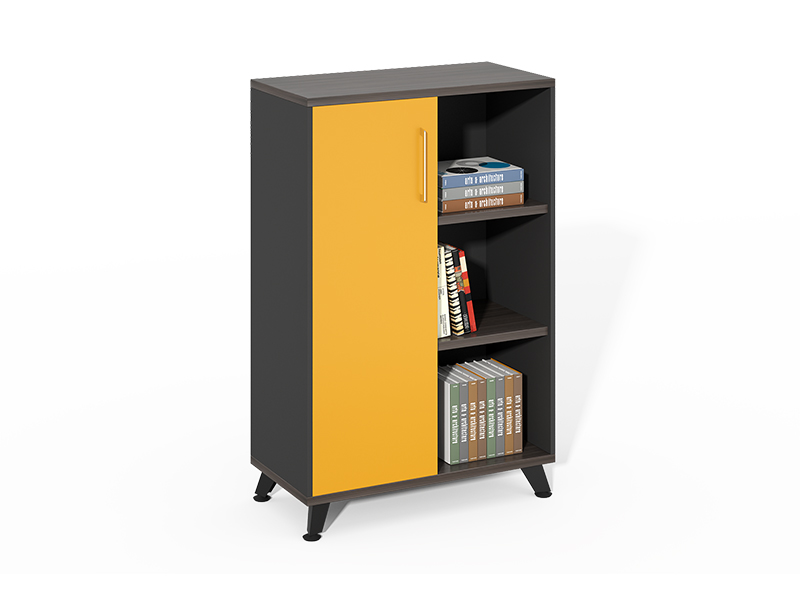 Competitive Price Wood Filing Cabinet with 3 Open Storage Shelves for Office Home CF-HMF0812A