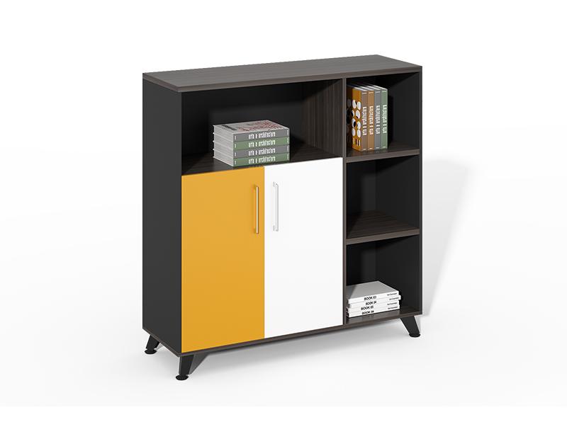 Factory Price Big Lots Openshelf+ 2 Swing Doors File Cabinet CF-HMF1212E
