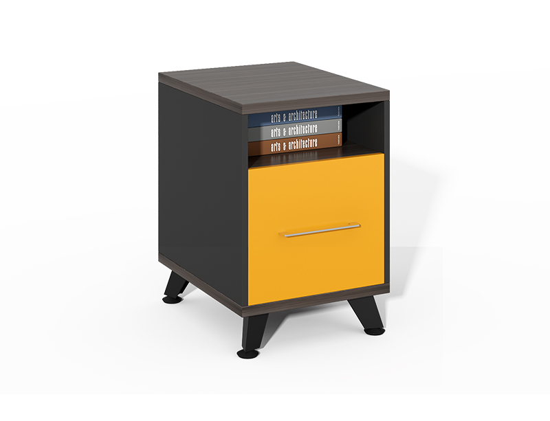 Factory Directly Lateral Single Drawer Small Wood File Cabinet CF-HMF0445
