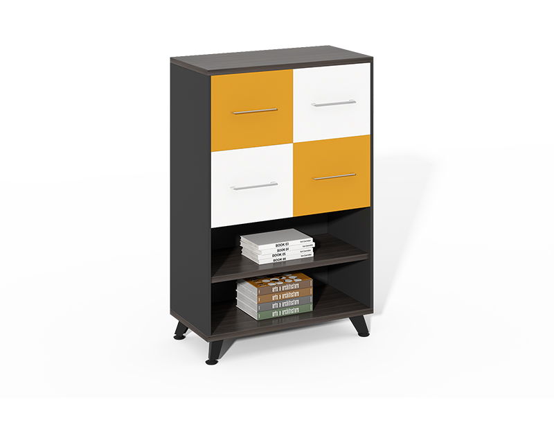China Manufacturer 4 drawer filing cabinet bookcase for home office CF-HMF0812E