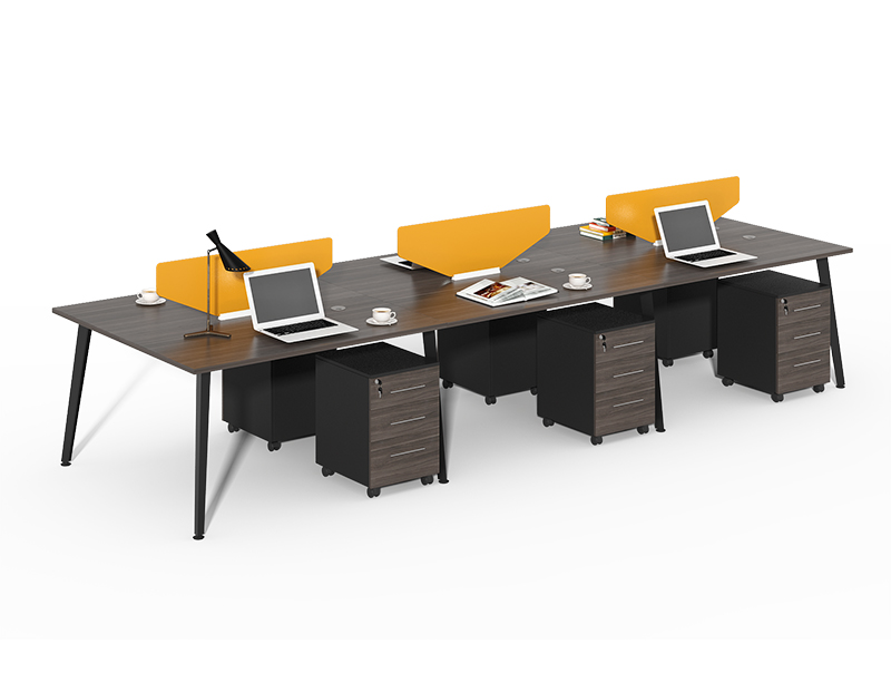 Office Partition Factory Wholesale Wood 6 person Office Partitions For Sale CF-HM3612E