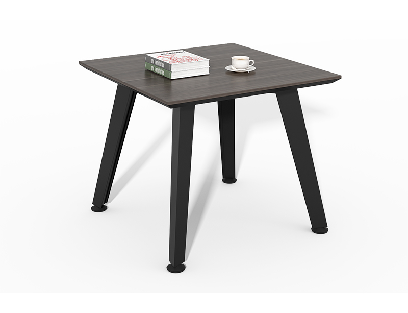 Wholesale High Quality wood black square coffee table CF-HM6060