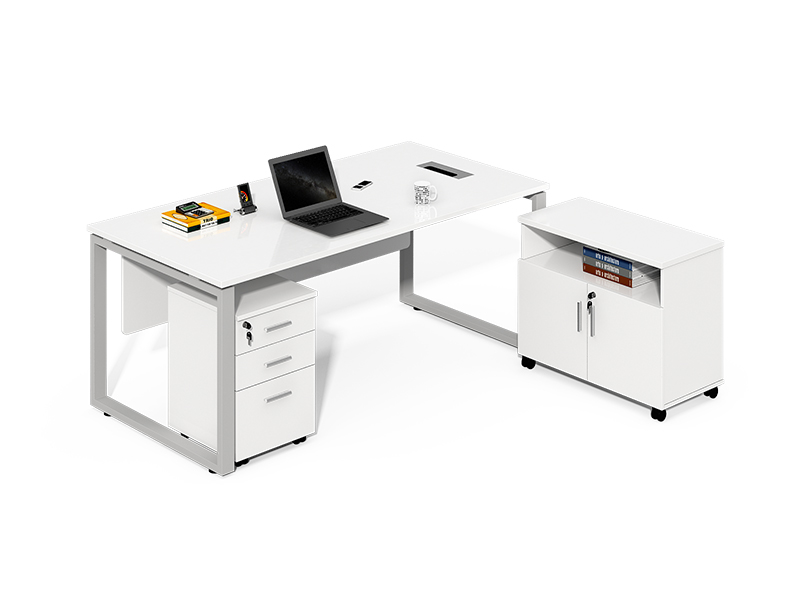 Manufacturer Directly Wholesale wood working boss office desk white executive desk for home office CF-LY2090LA