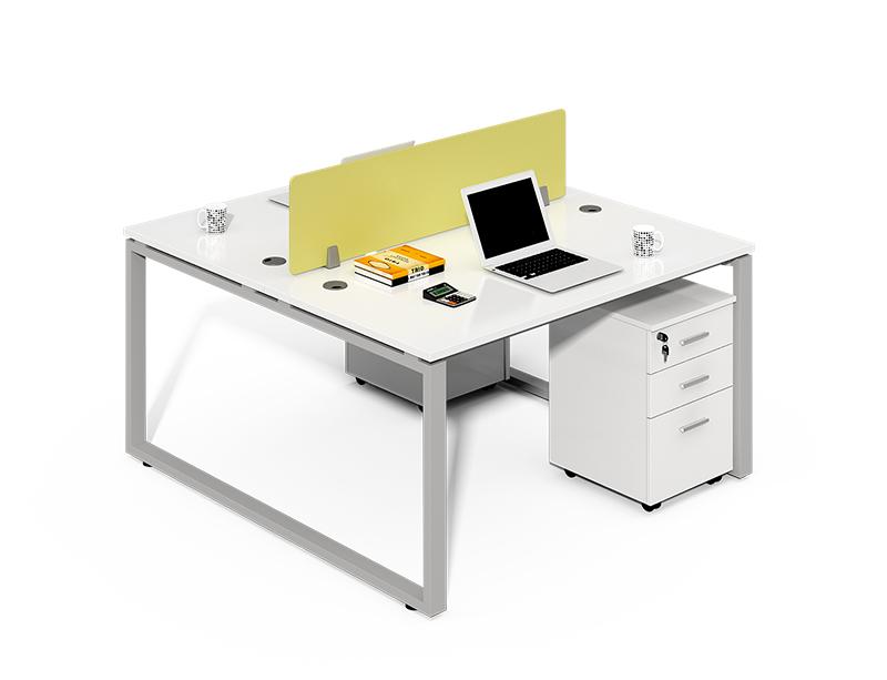 Back to Back 2 Person Office Desk Workstation CF-LYW1212
