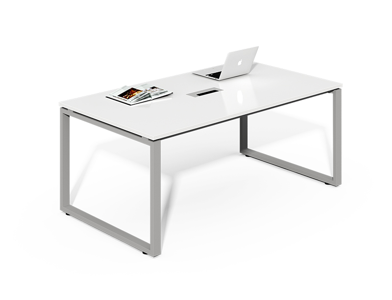 White Office Meeting Room Table For Sale CF-LY1809