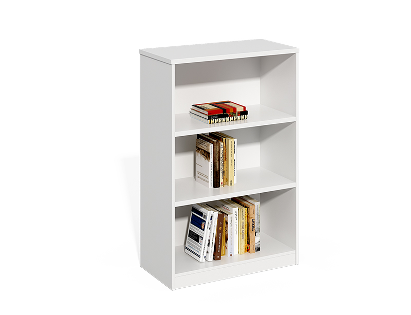 White Wooden Open Filing Cabinet For Sale CF-LY0812B